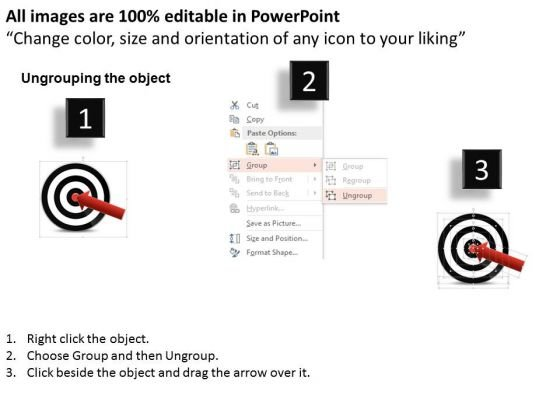 business_daigram_black_dart_and_red_arrow_for_business_target_presentation_templets_2