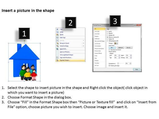business_development_process_diagram_3d_family_with_hut_powerpoint_slides_3