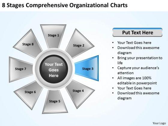 Business Development Strategy Comprehensive Organizational Charts Creative Marketing Concepts