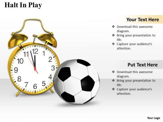 Business Development Strategy Halt Play Clipart