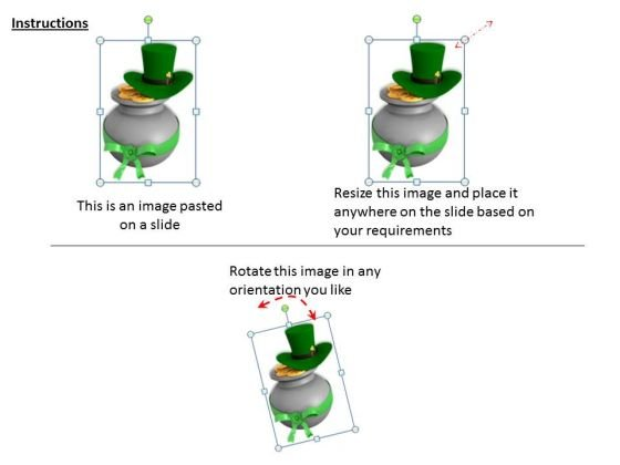 business_development_strategy_patricks_day_pot_with_coins_icons_images_2