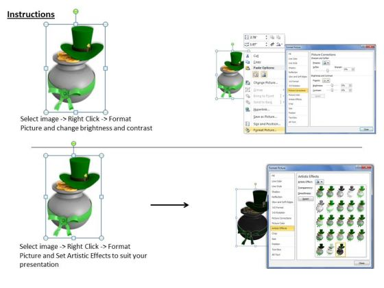 business_development_strategy_patricks_day_pot_with_coins_icons_images_3