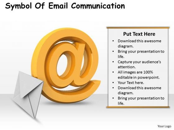 Business Development Strategy Symbol Of Email Communication Icons Images