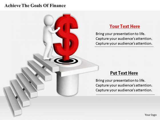 Business Development Strategy Template Achieve The Goals Of Finance Concept