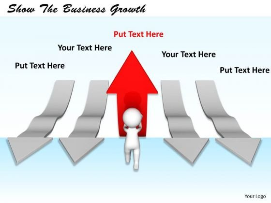 Business Development Strategy Template Show The Growth Concept