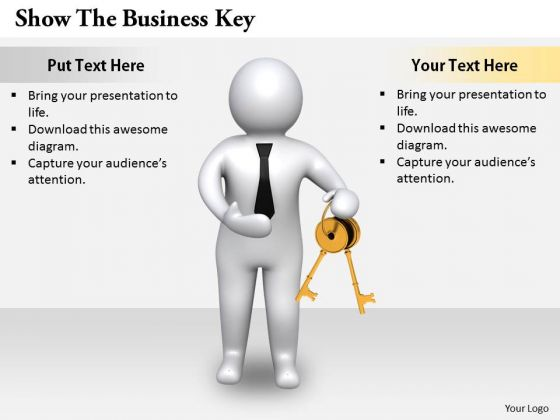 Business Development Strategy Template Show The Key Concept