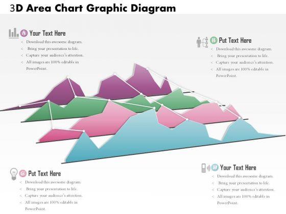 Business Diagram 3d Area Chart Graphic Diagram PowerPoint Ppt Presentation