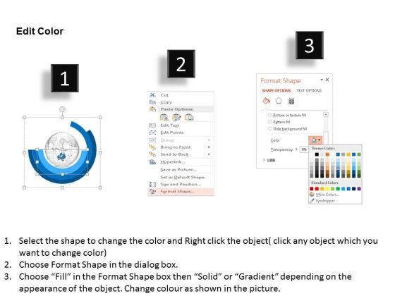 business_diagram_3d_binary_globe_vector_in_circular_diagram_presentation_template_3