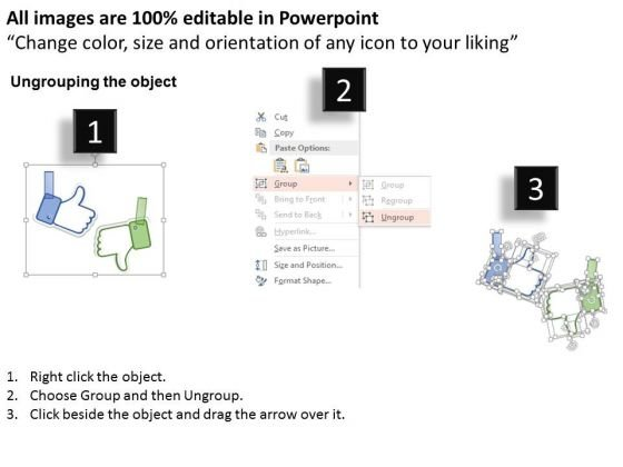 business_diagram_3d_hand_icons_and_thumb_for_text_representation_powerpoint_template_2