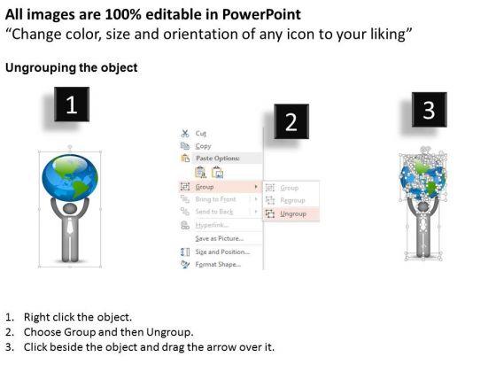 business_diagram_3d_man_holding_globe_diagram_powerpoint_ppt_presentation_2