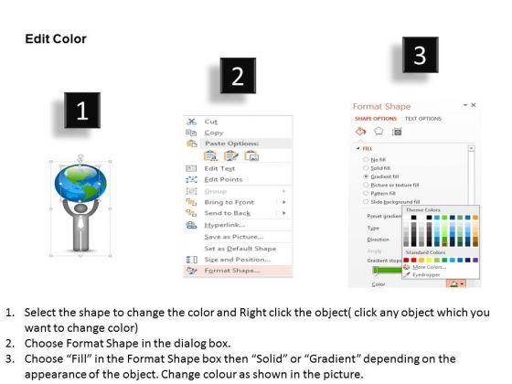 business_diagram_3d_man_holding_globe_diagram_powerpoint_ppt_presentation_3
