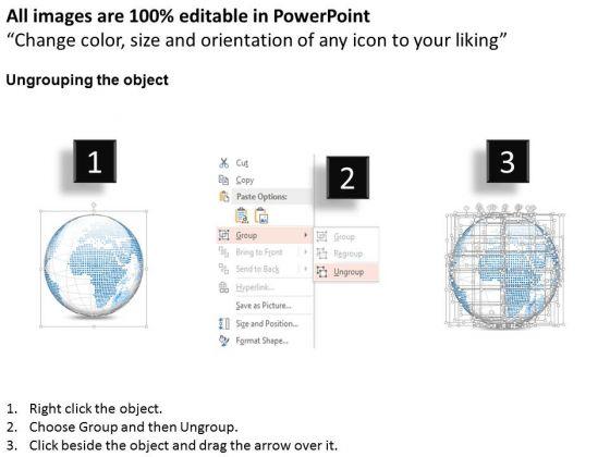 business_diagram_3d_small_area_specific_globes_vectors_presentation_template_2