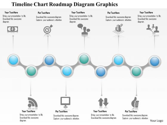 Business Diagram 3d Timeline Diagram With Multiple Icons Presentation Template