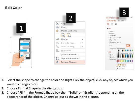 business_diagram_black_smart_phone_with_speech_bubbles_for_communication_presentation_template_3