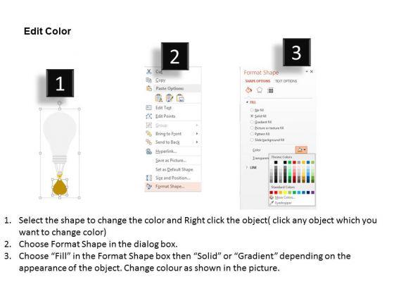 business_diagram_bulbs_for_creative_business_ideas_presentation_template_3