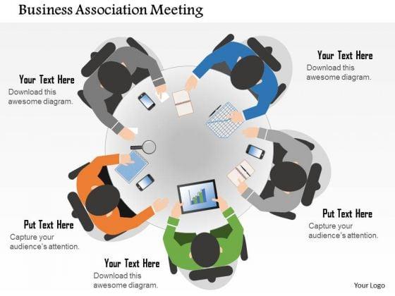 Business Diagram Ociation Meeting Presentation Template 1 2