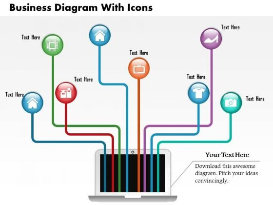 Business Diagram Business Diagram With Icons Presentation Template