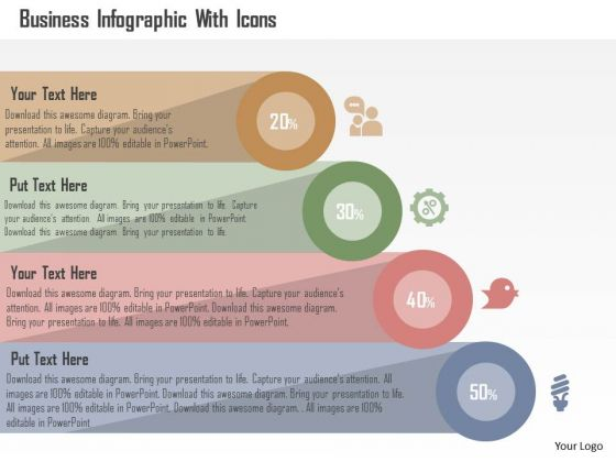 Business Diagram Business Infographic With Icons PowerPoint Templates