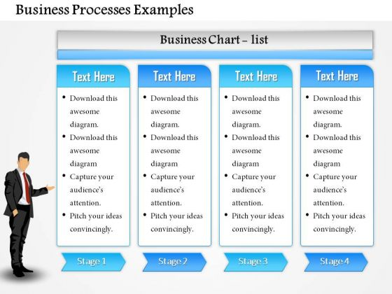 Business Diagram Business Processes Examples PowerPoint Ppt Presentation