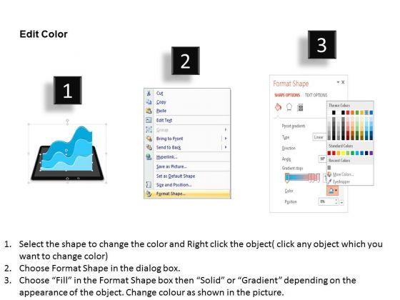 business diagram business progress report design presentation, Presentation templates