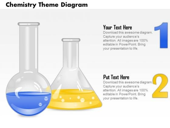 Business Diagram Chemistry Theme Diagram PowerPoint Ppt Presentation