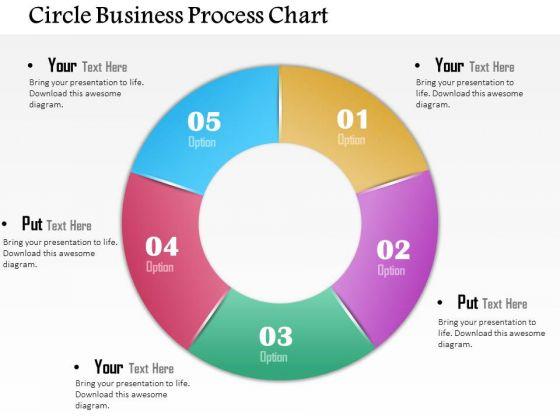 Business Diagram Circle Business Process Chart Presentation Template