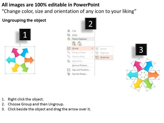 business_diagram_circular_arrows_for_brand_asset_management_presentation_template_2