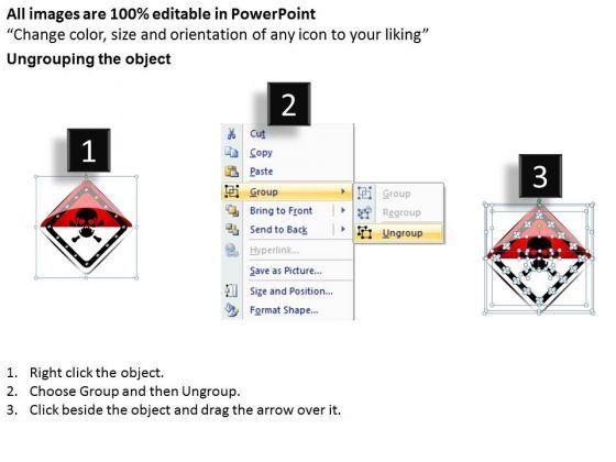 business_diagram_danger_board_for_warning_symbol_presentation_template_2