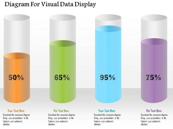 Business Diagram Diagram For Visual Data Display Presentation Template