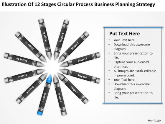 Business Diagram Examples Circular Process Planning Strategy Ppt PowerPoint Slide