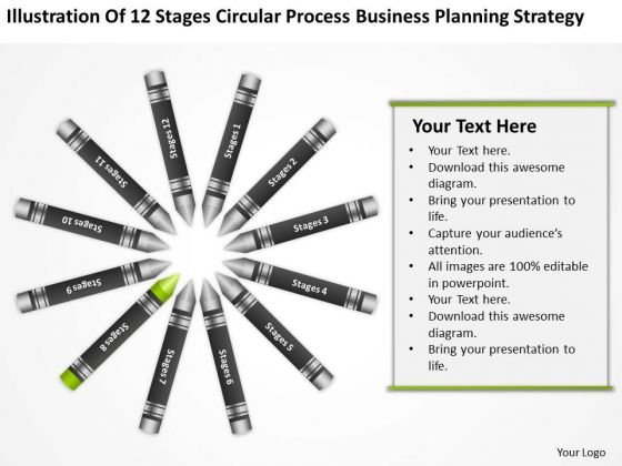 Business Diagram Examples Circular Process Planning Strategy Ppt PowerPoint Templates