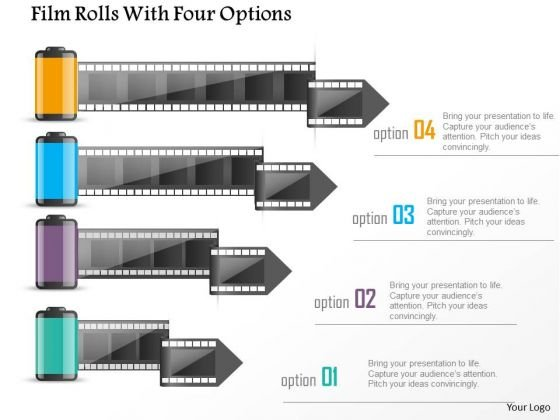 business_diagram_film_rolls_with_four_options_presentation_template_1