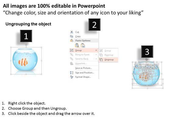 business_diagram_fish_bowl_three_steps_diagram_presentation_template_2