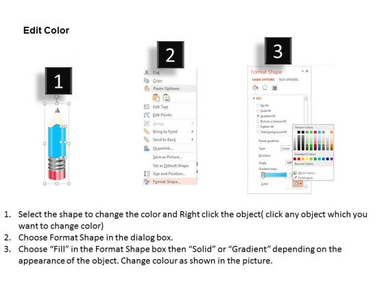 business_diagram_four_staged_linear_pencil_diagram_presentation_template_3