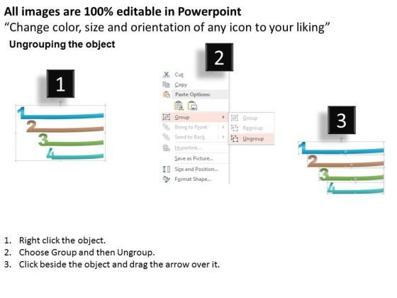 business_diagram_four_staged_realistic_design_numeric_text_boxes_powerpoint_template_2
