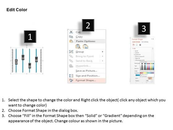 business_diagram_four_volume_buttons_for_voice_control_presentation_template_3