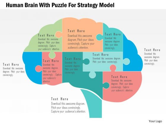 Business diagram human brain with puzzle for strategy model business diagram human brain with puzzle for strategy model presentation template powerpoint templates ccuart Gallery