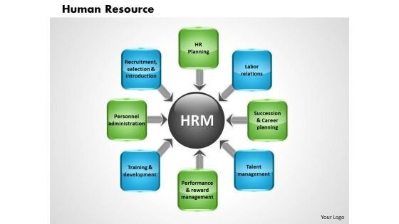 Business Diagram Human Resource PowerPoint Ppt Presentation