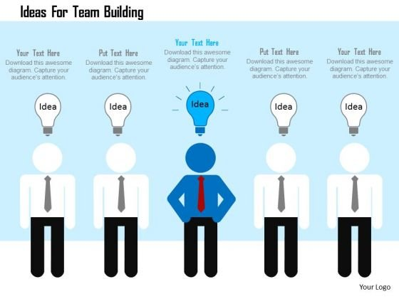 Business Diagram Ideas For Team Building Presentation Template