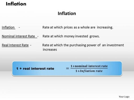 Business Diagram Inflation PowerPoint Ppt Presentation