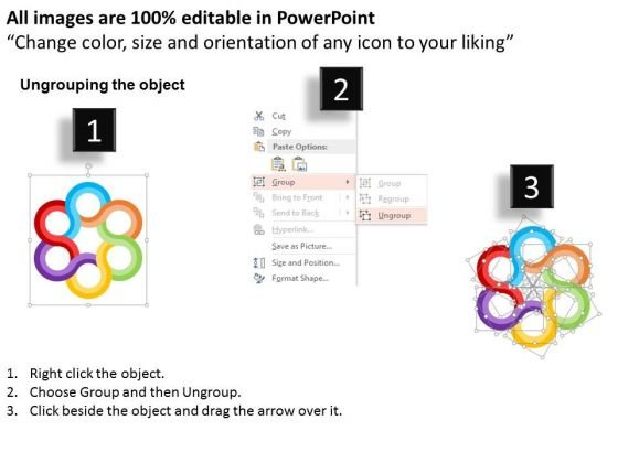 business_diagram_linked_circle_for_strategic_planning_process_presentation_template_2