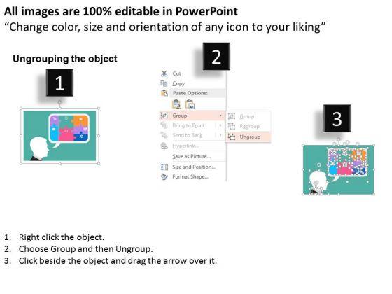 business_diagram_man_forming_business_plans_presentation_template_2