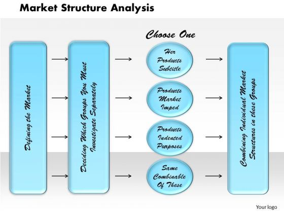 Business Diagram Market Structure Analysis PowerPoint Ppt Presentation