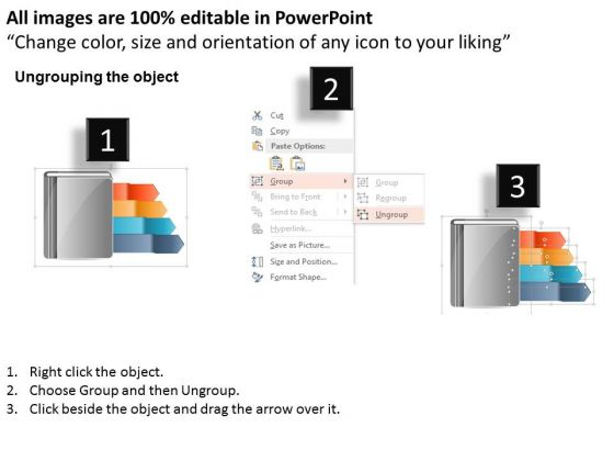 business_diagram_modern_infographic_options_banner_with_diary_powerpoint_template_2