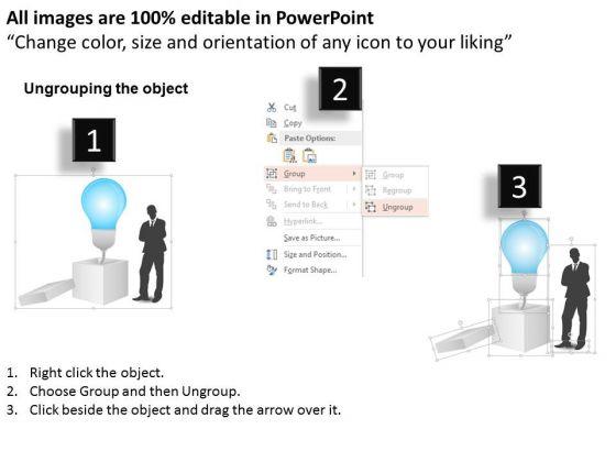 business_diagram_open_box_with_bulb_for_idea_concept_presentation_template_2