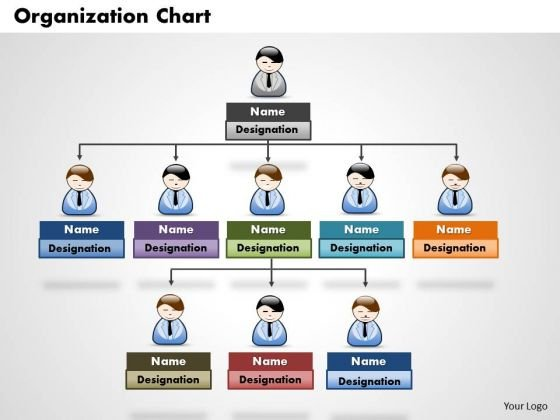 Organization chart PowerPoint templates, Slides and Graphics