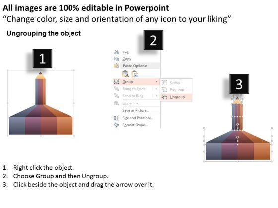 business_diagram_pencil_with_text_boxes_for_data_representation_powerpoint_template_2
