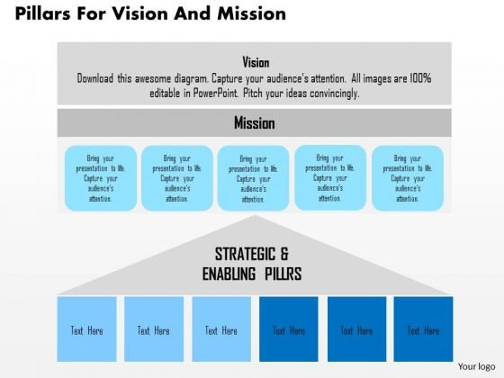 Business diagram pillars for vision and mission presentation business diagram pillars for vision and mission presentation template powerpoint templates toneelgroepblik Image collections