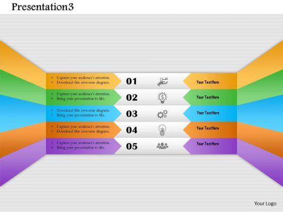 Business Diagram Presentation3 Presentation Template
