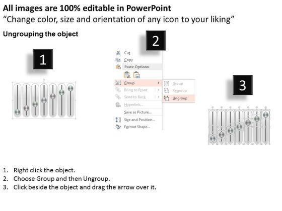 business_diagram_seven_staged_music_mixer_slider_diagram_presentation_template_2